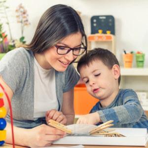 Acompañamiento terapeútico en el aprendizaje de niños con TEA